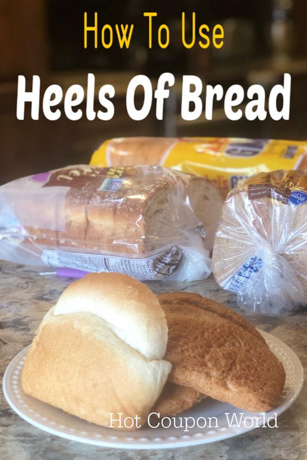heels of bread
