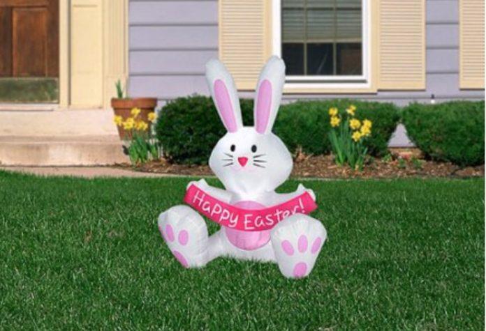 Walmart Inflatable Easter Bunny
