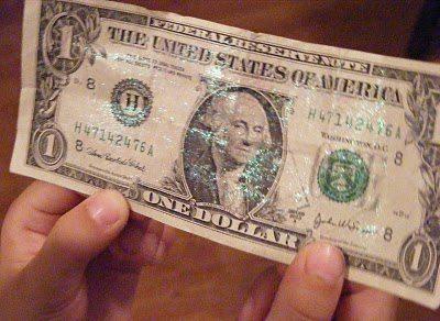 Fairy Dust On Dollar