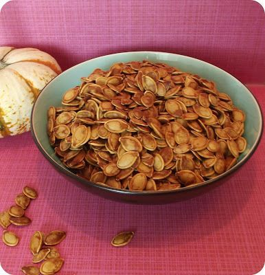 Sweet and Salty Roasted Pumpkin Seeds