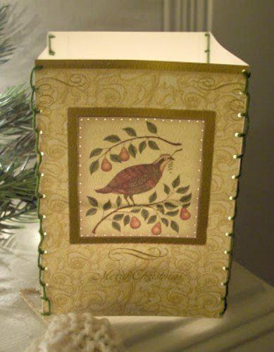 Christmas Card Luminaries