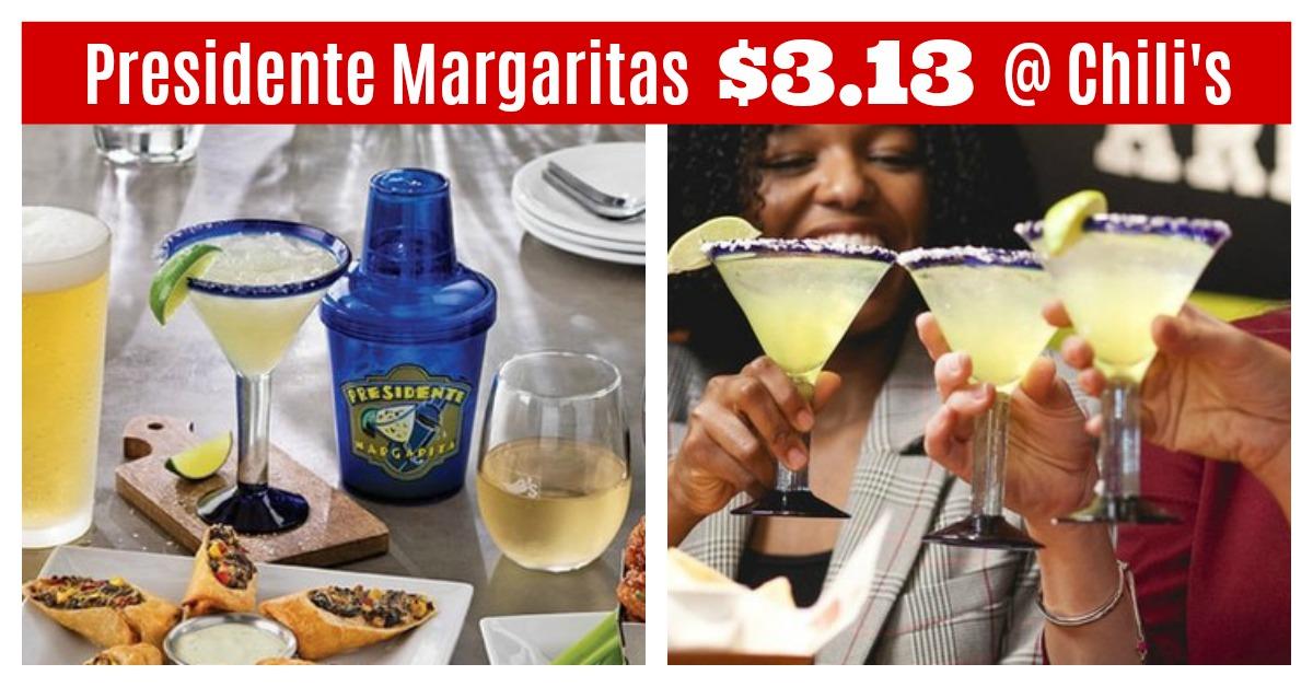 Presidente Margaritas Deal at Chilis Restaurant