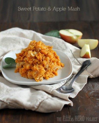 Sweet Potato & Apple Mash
