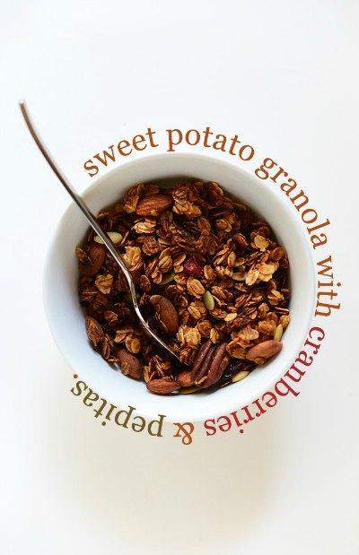 Sweet Potato Granola