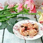 Cherry & Chocolate Rice Krispy Treats - Enjoy!