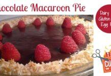 Chocolate Macaroon Pie Recipe – Easy & Gluten Free, Egg Free, Dairy Free