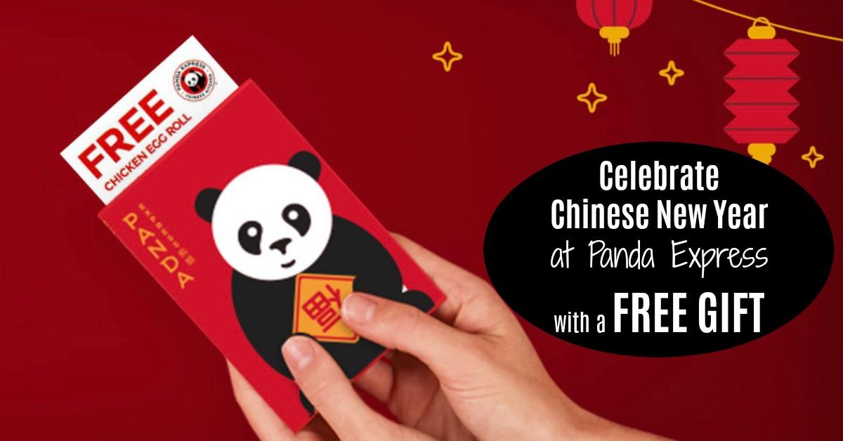 Chinese New Year at Panda Express Free Coupons