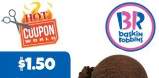 $1.50 Scoop Day at Baskin-Robbins