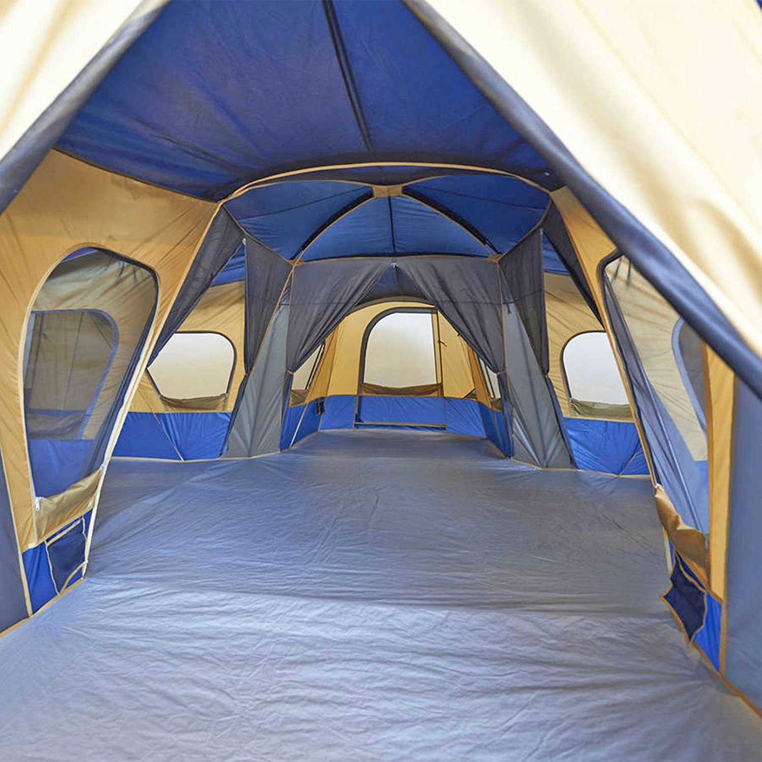 & Ozark Trail Base Camp 14-Person Cabin Tent
