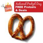 Free Deals for National Pretzel Day