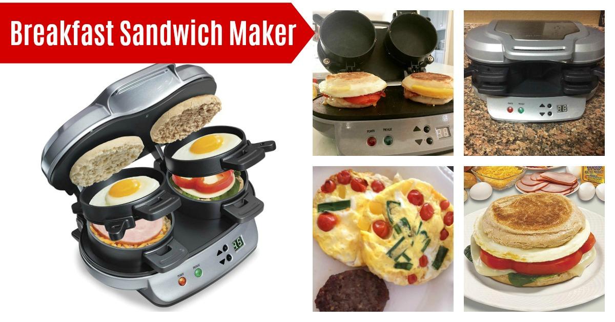 Hamilton Beach Dual Breakfast Sandwich Maker