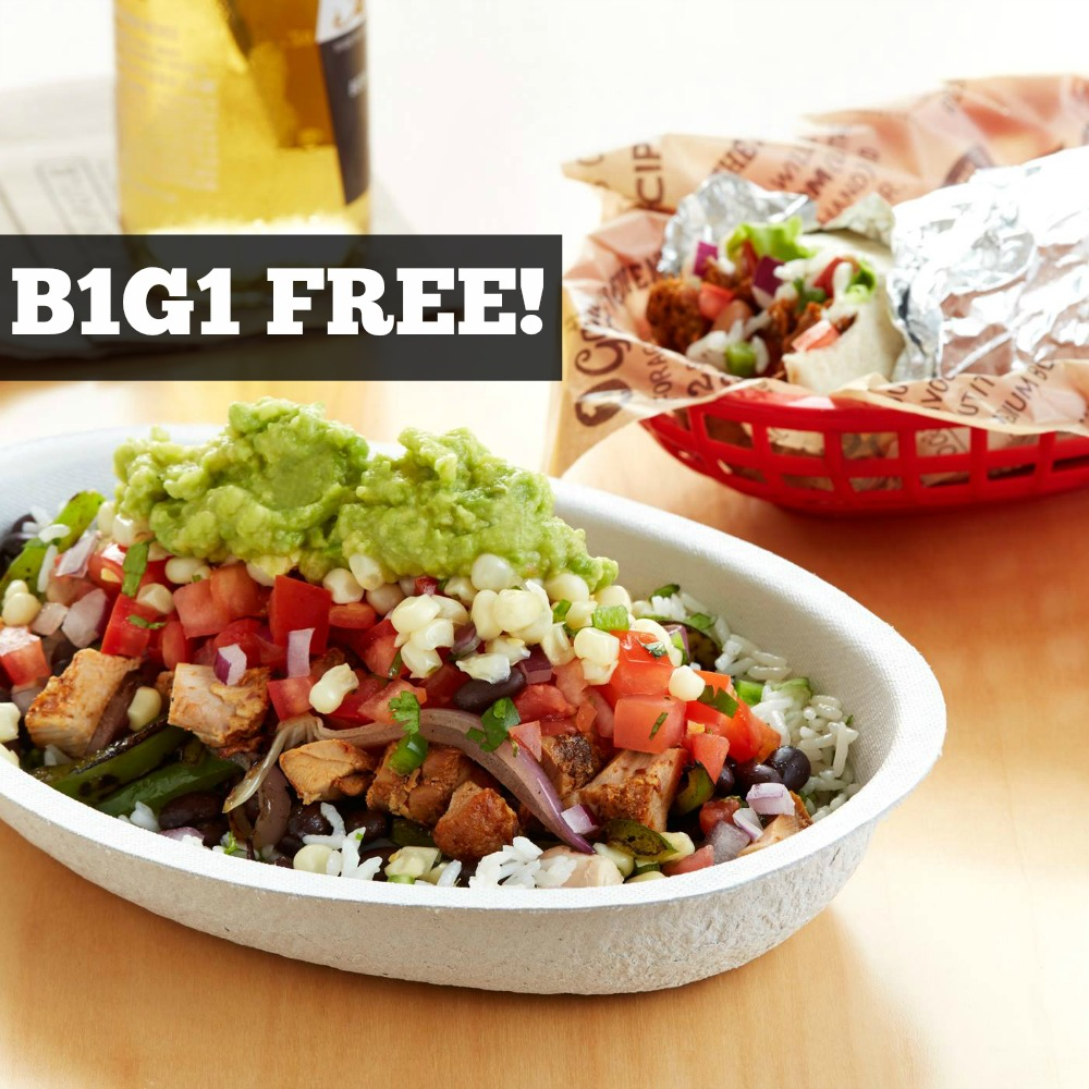 It's just an image of Amazing Chipotle Printable Coupons