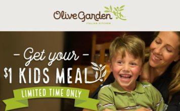 Olive Garden Kids Meal Coupon