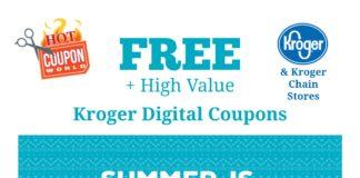 Summer Promo in Kroger Digital Coupons