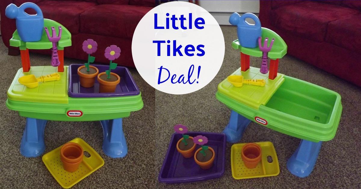 The Little Tikes Garden Table Play Set on Amazon