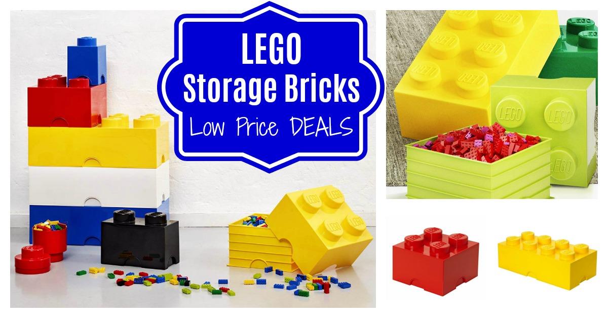 LEGO Storage Bricks Blocks on Amazon