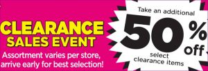 Clearance Deals at Dollar General