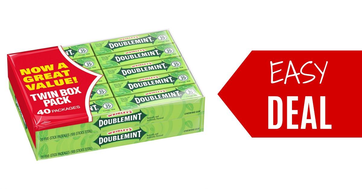 Wrigley S Coupons Gum Deals Doublemint Winterfresh Juicy Fruit