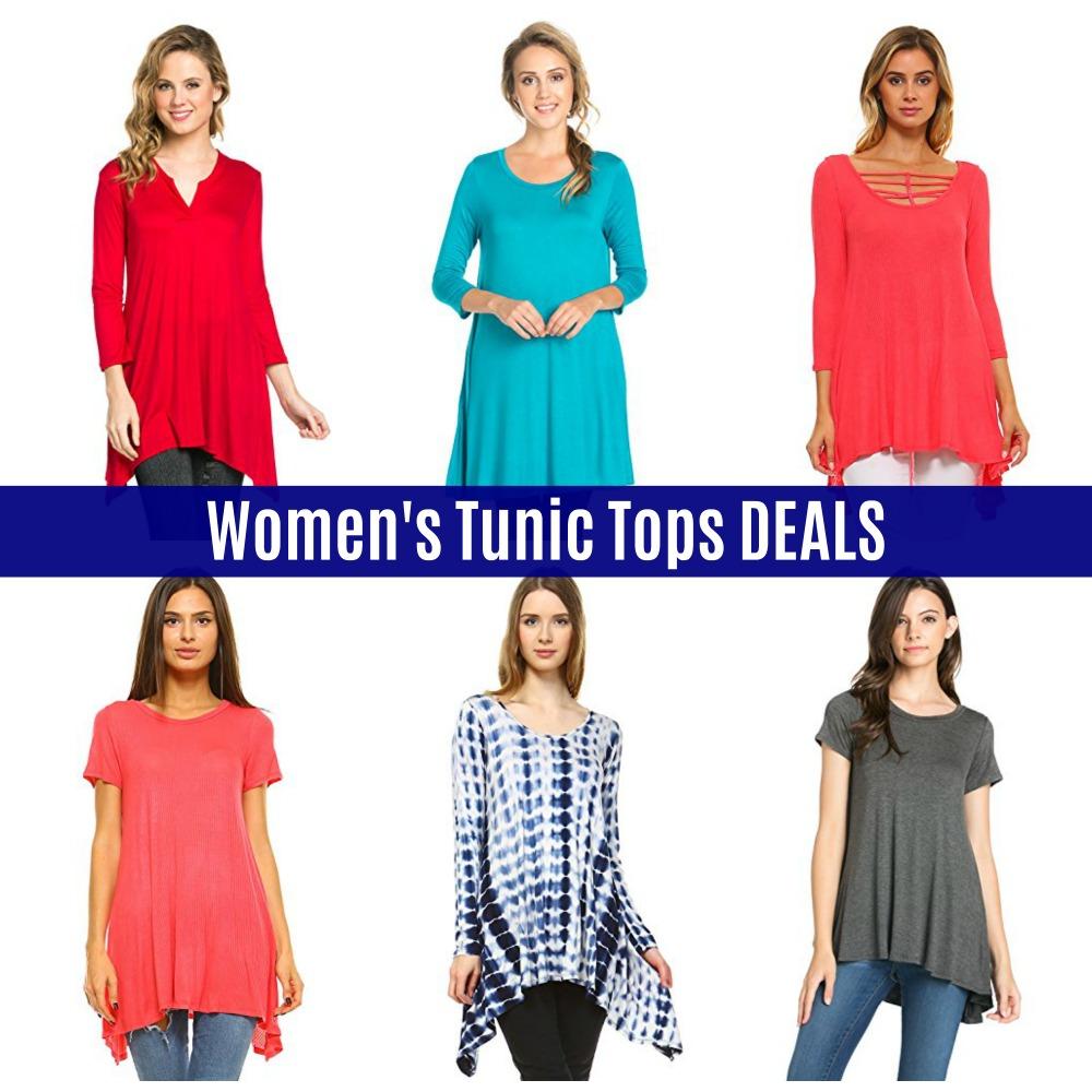 157316e83e7 Amazon DEALS: Women's Tunic Tops - DEALS - MANY Choices!
