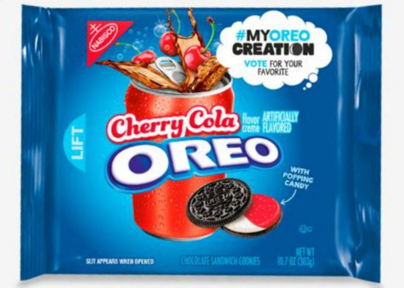 Cherry Cola Oreos