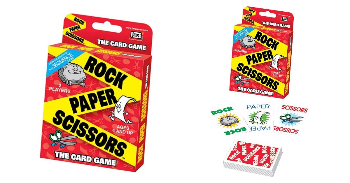 Rock Paper Scissors Card Game on Amazon
