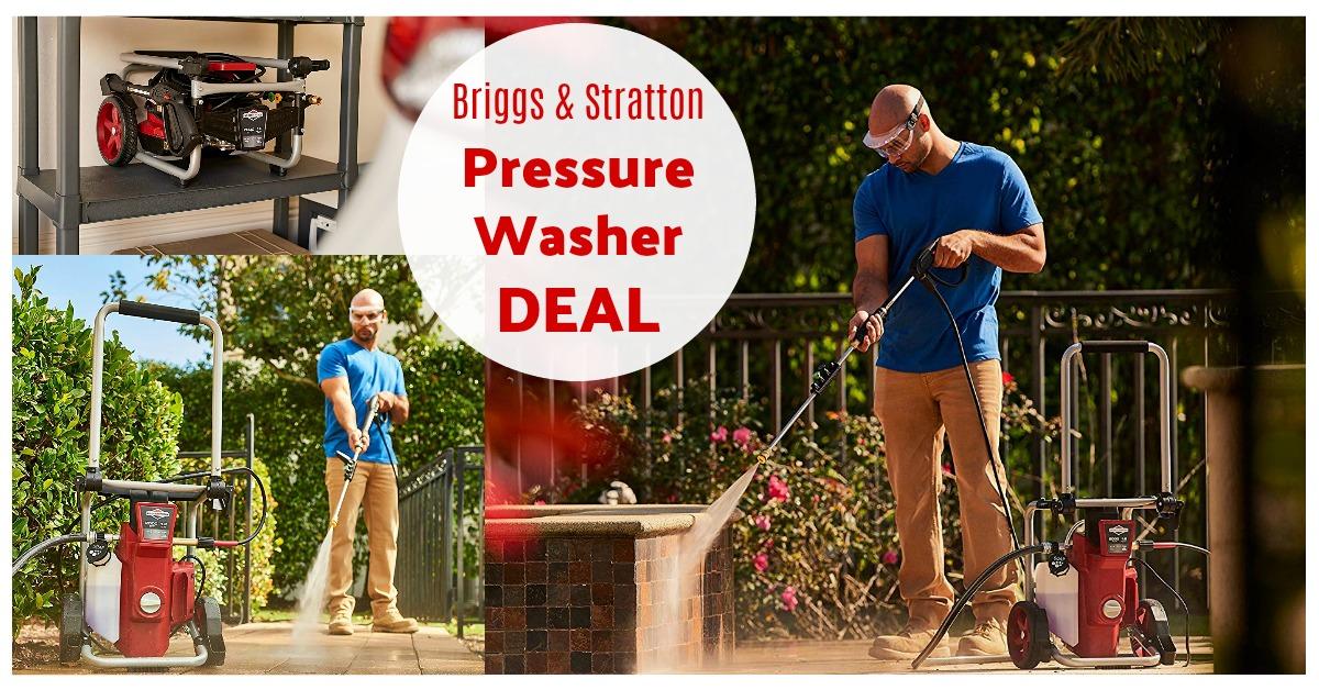 Briggs & Stratton 2000Psi 1.2Gpm Pressure Washer on Amazon