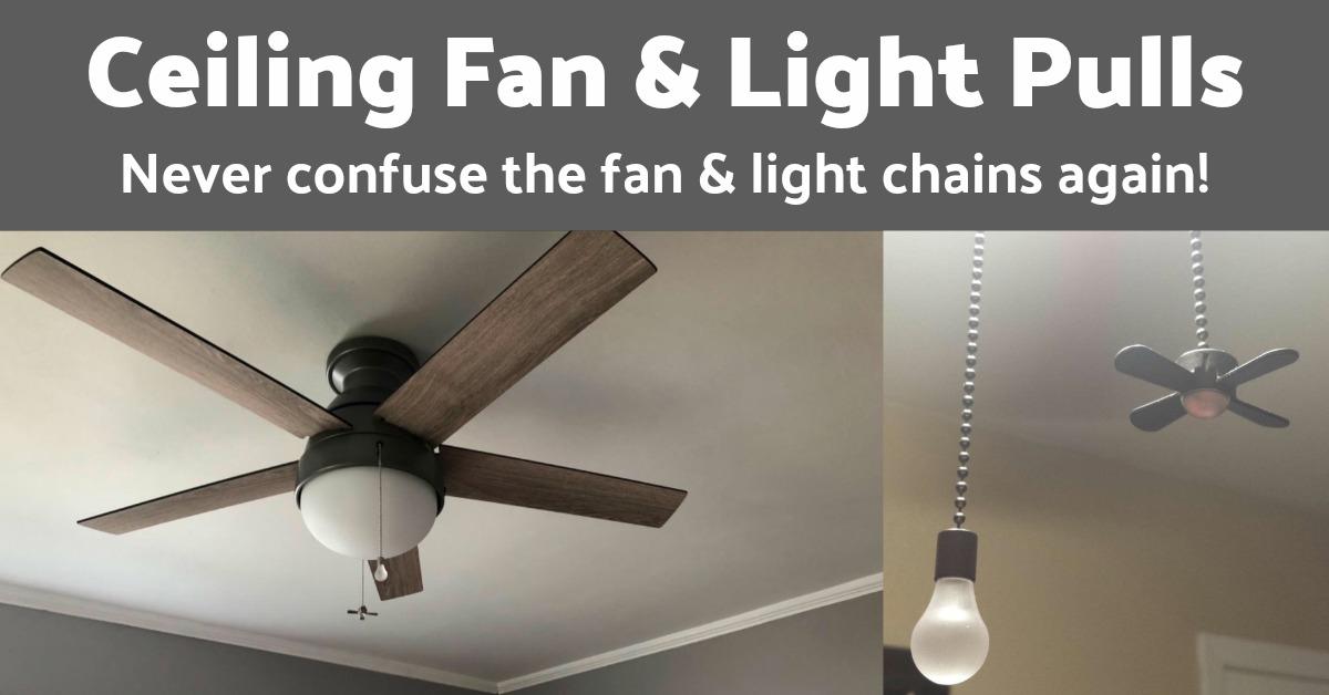 Ceiling Fan Light Pulls