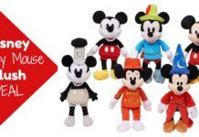 Disney Plush Mickey Mouse on Amazon