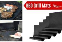 Amazon BBQ Grill Mats Set on Amazon