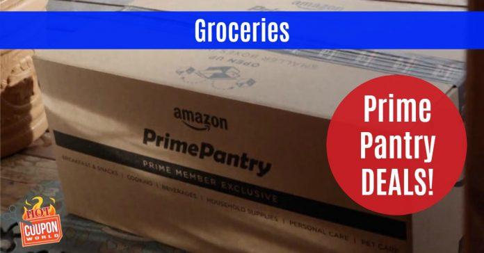 Prime pantry coupon code