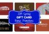 Gift Card Bonus Deals 2019