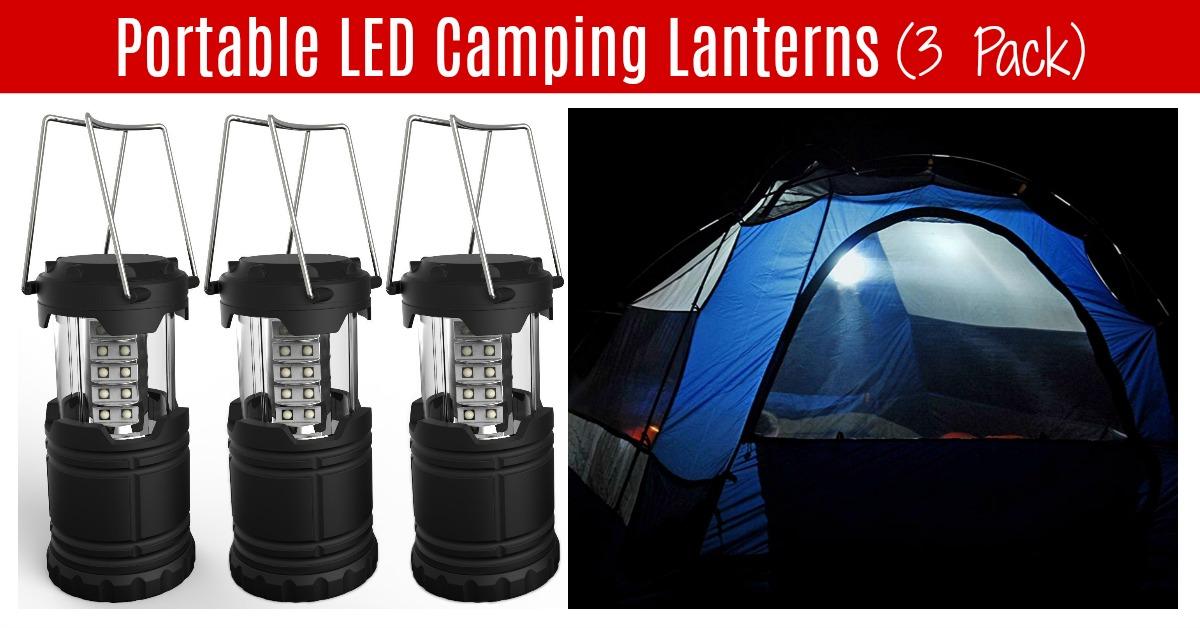 Portable LED Camping Lantern on Amazon