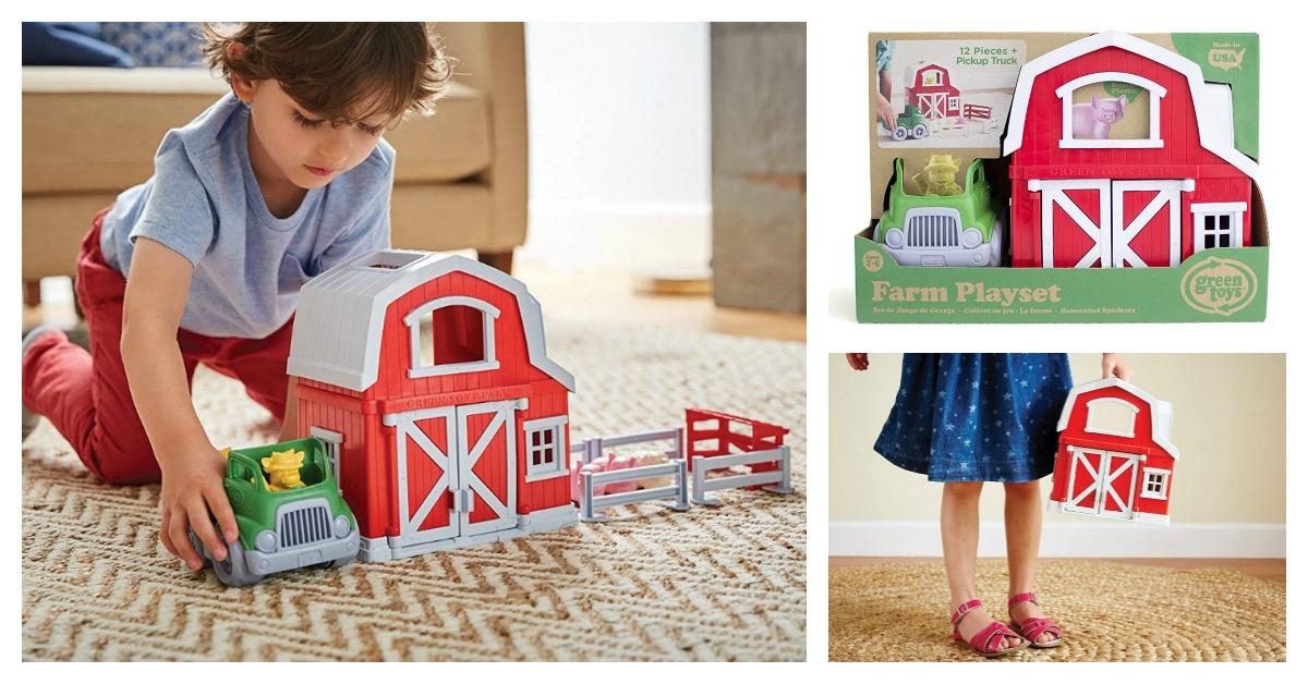 Green Toys Farm Playset on Amazon
