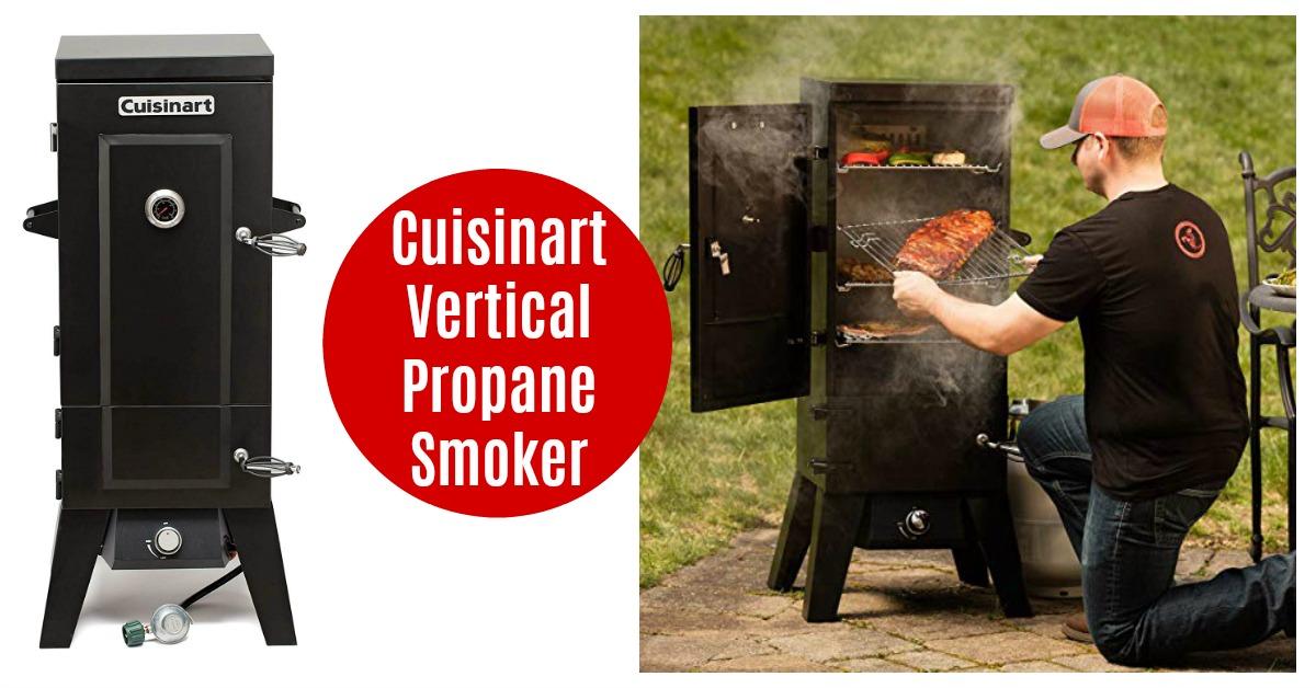 Cuisinart Vertical Propane Smoker on Amazon