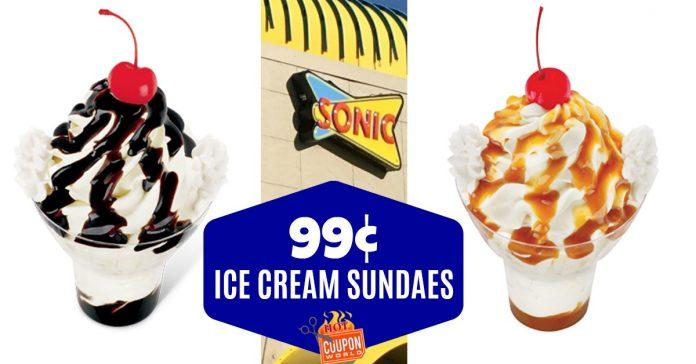 Sonic 099 Ice Cream