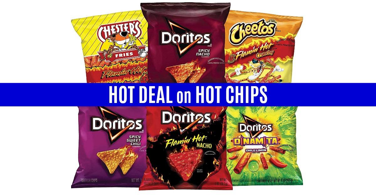 Frito-Lay Fiery Mix Variety Pack on Amazon