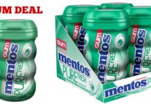 Mentos Gum Coupon Deal on Amazon