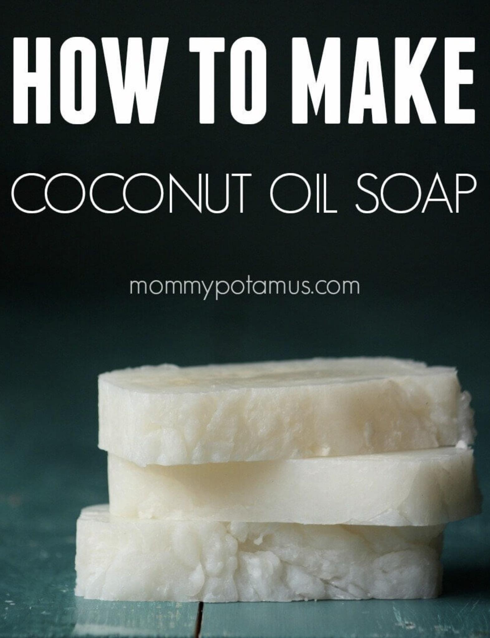 Coconut Oil Bar Soap