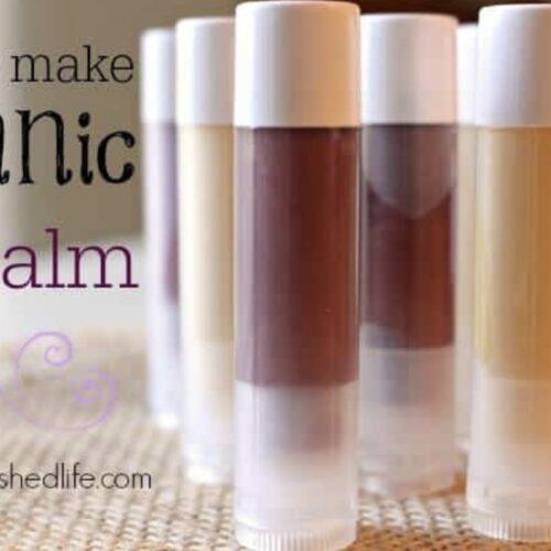 Coconut Oil Organic Lip Balm