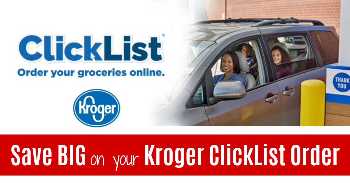 Kroger Digital Coupons Clicklist Deals