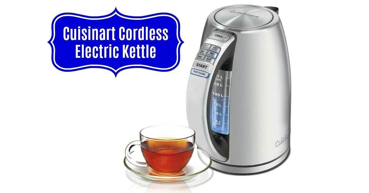 Cuisinart CPK 17 PerfecTemp 1.7 Liter Stainless Steel Cordless Electric Kettle