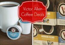 victor allen coffee coupon deals