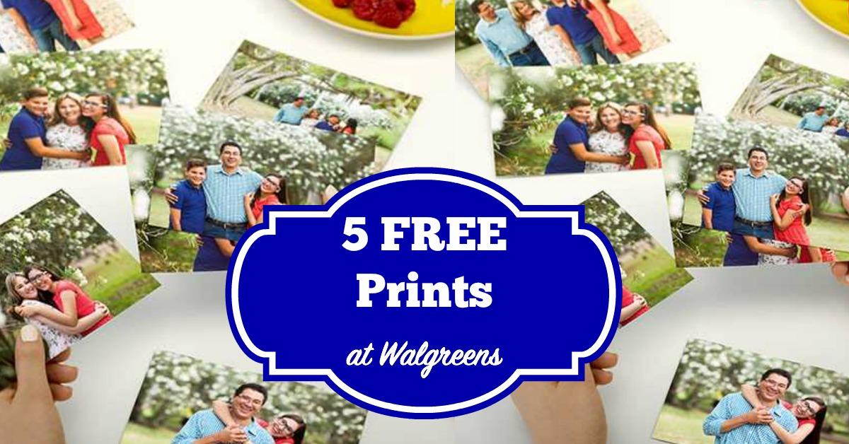 Walgreens Photo Deals 5 Free Prints More