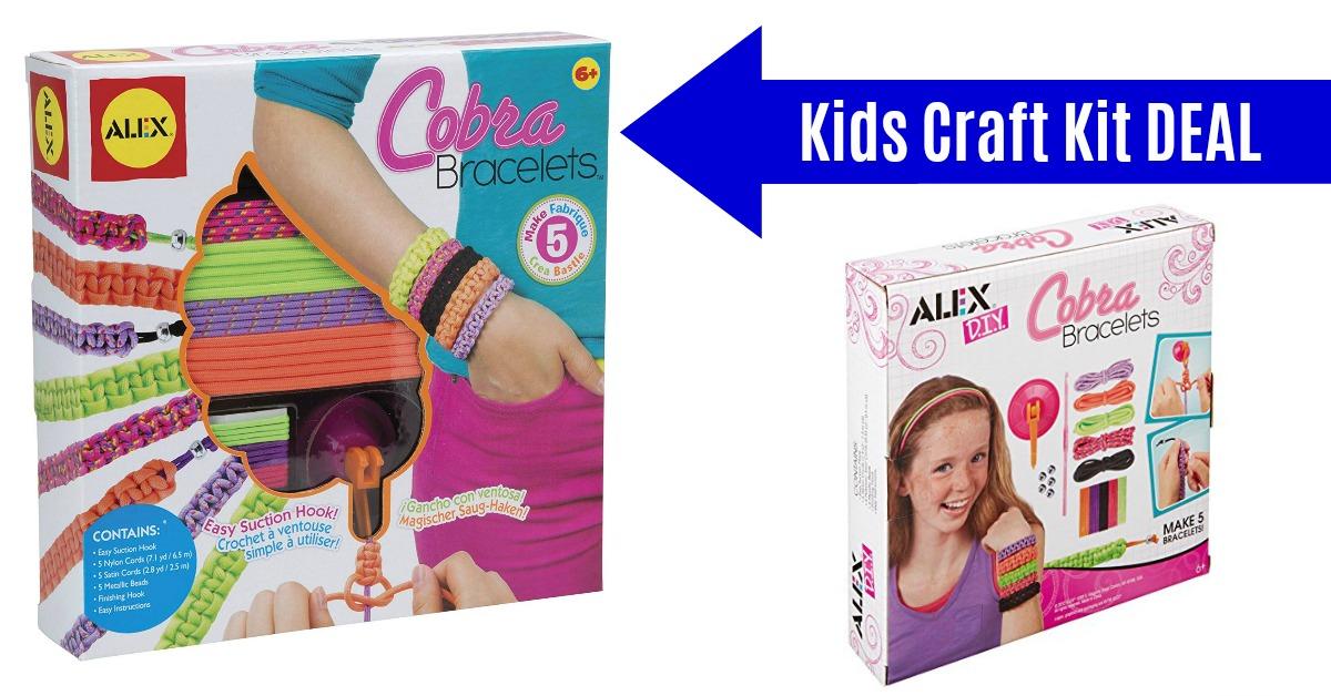 ALEX Toys DIY Wear Cobra Bracelets Craft Kit on Amazon