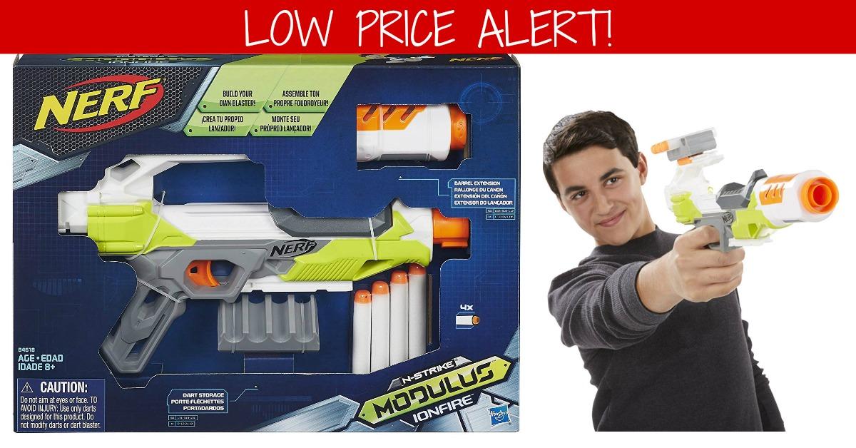Nerf Modulus IonFire Blaster on Amazon