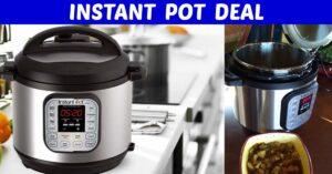 Instant Pot 6 quart on Amazon sale