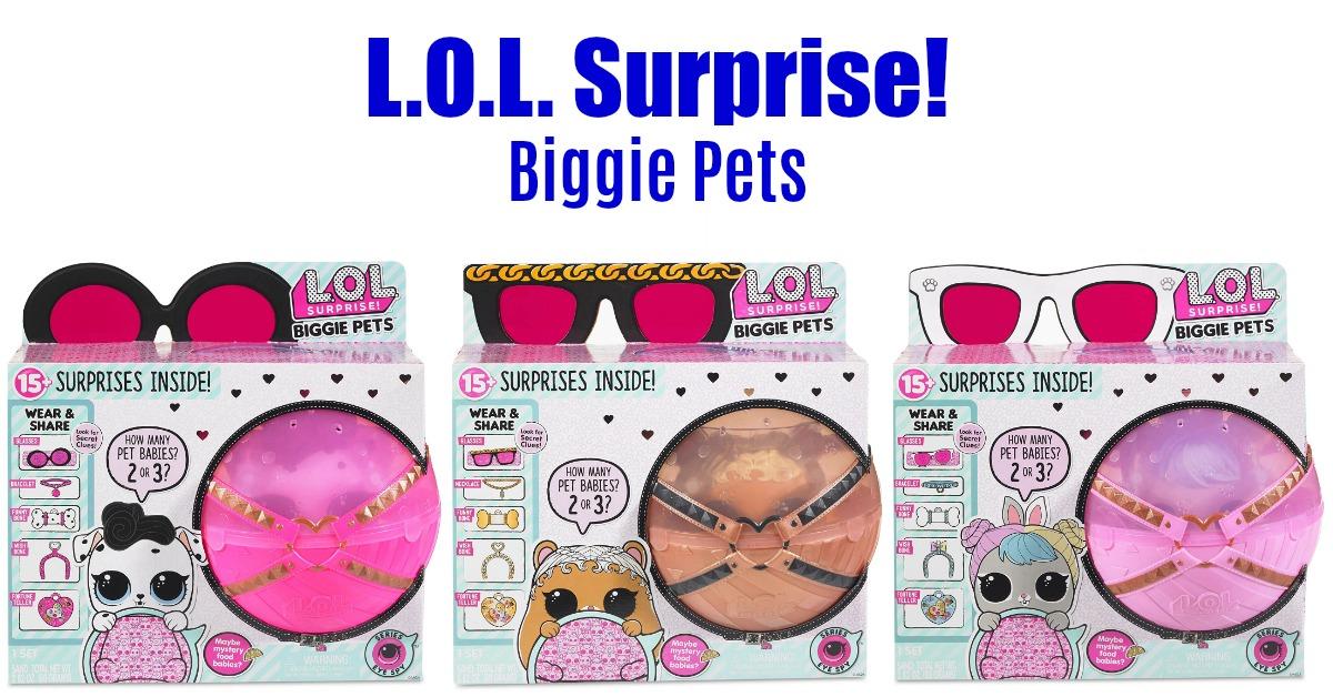 L.O.L. Surprise! Biggie Pets - Best Price! on Amazon