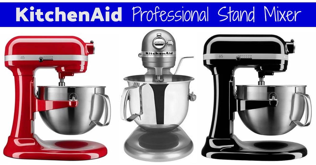 KitchenAid 6-Qt Bowl-Lift Professional Stand Mixer (Best Price!)