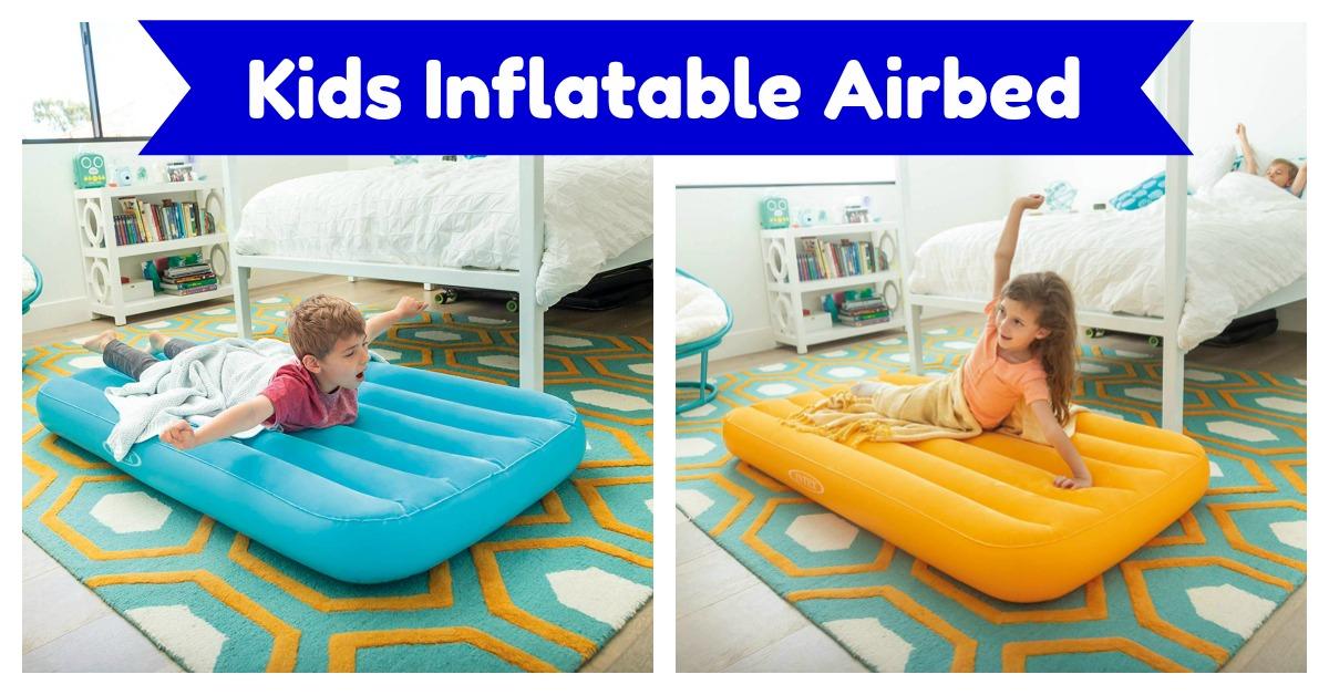Intex Cozy Kidz Kids Inflatable Airbed on Amazon