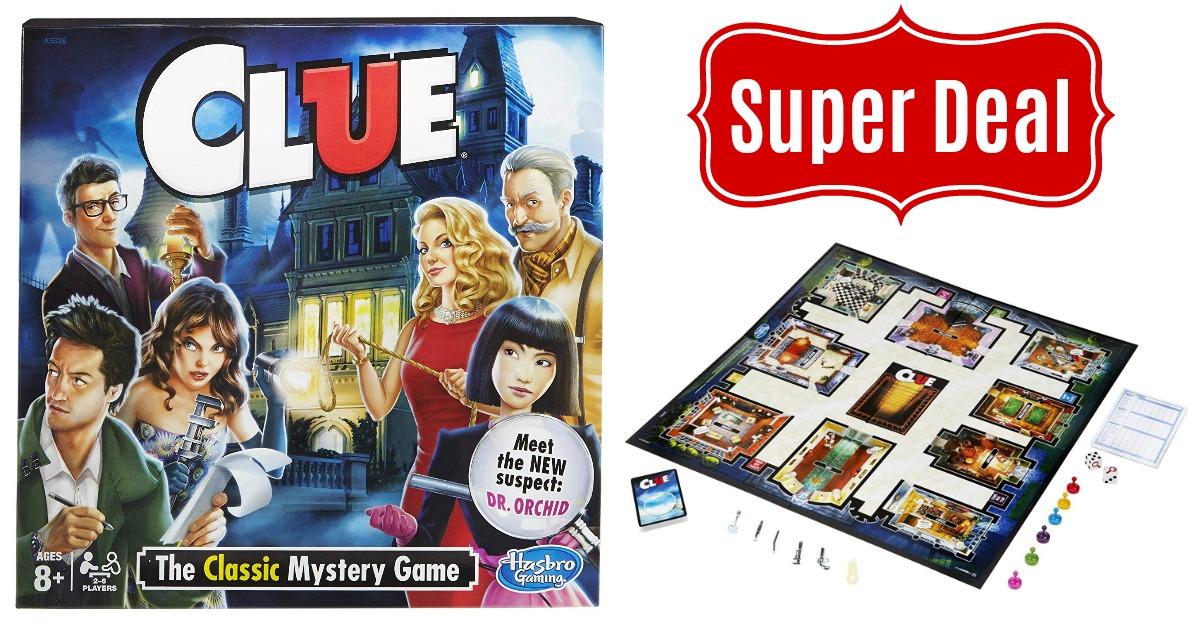 Clue game on Amazon